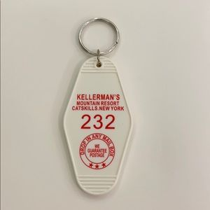 Hotel Key Ring Keychain Kellerman's Dirty Dancing